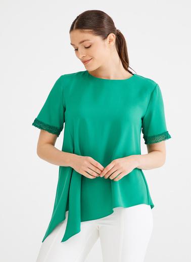 Love My Body Bluz Yeşil